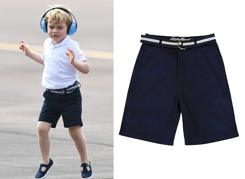 prince george navy shorts