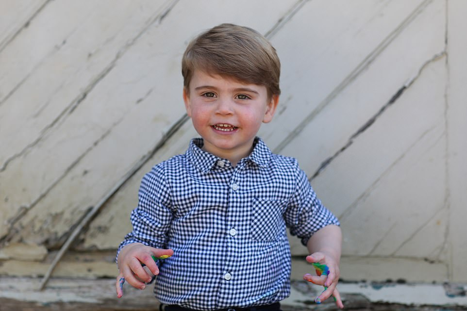 Gone are the little wisps of baby hair and chubby face we have been used to seeing. Instead he is now a proper cheeky little boy, full of life just like his brother, Prince George, six, and sister, Princess Charlotte, who will turn five next month