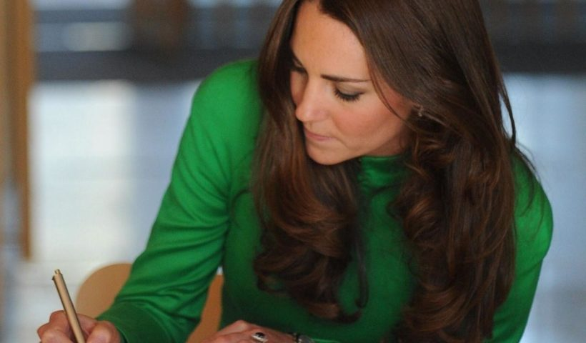 catherine the duchess of cambridge signs the visitors book news photo 1587057593