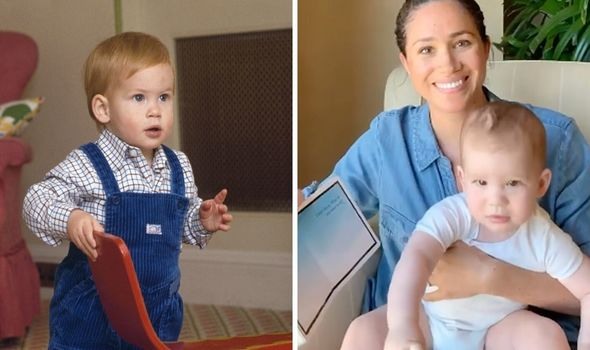Baby Archie photos: Archie and Meghan and young Prince Harry