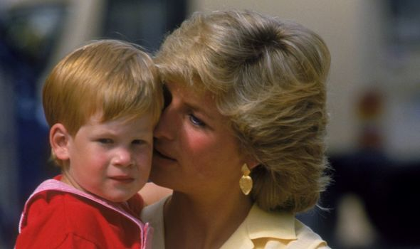 Baby Archie photos: Young Prince Harry and Princess Diana