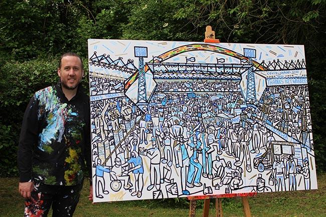 art work wembley stadium z