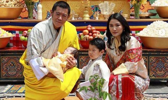 Bhutan royal family 1303879