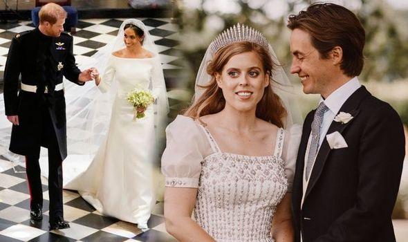 Meghan Markle Prince Harry Beatrice and Edoardo 1313436