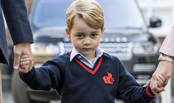 Prince George news royal family line of succession king George VI 1303880