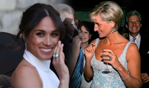 Meghan Markle Princess Diana 1328337