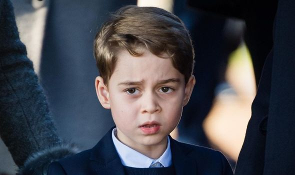 Royal bond: Prince George