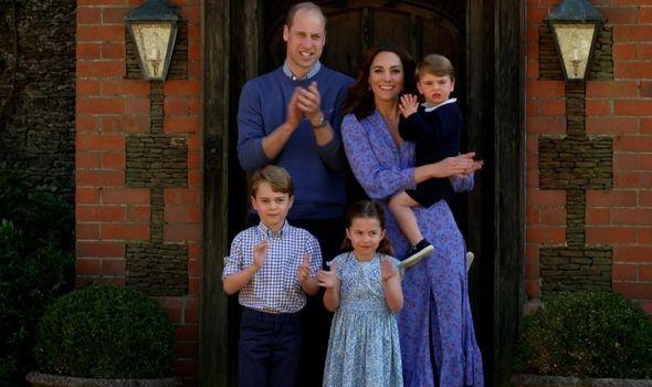 Royal bond: Cambridge family