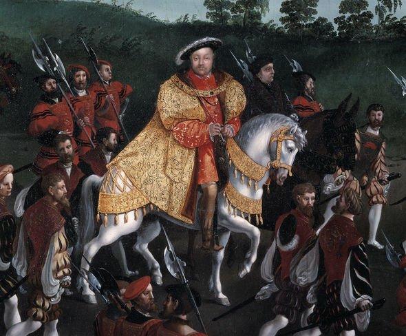 Queen Elizabeth II family tree: King Henry VIII
