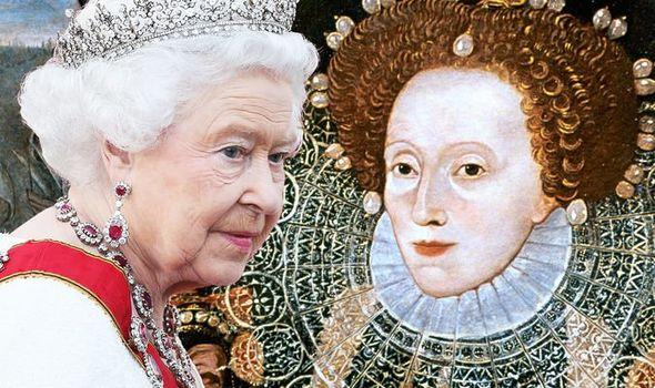 QUEEN ELIZABETH II RELATED QUEEN ELIZABETH I 1363454