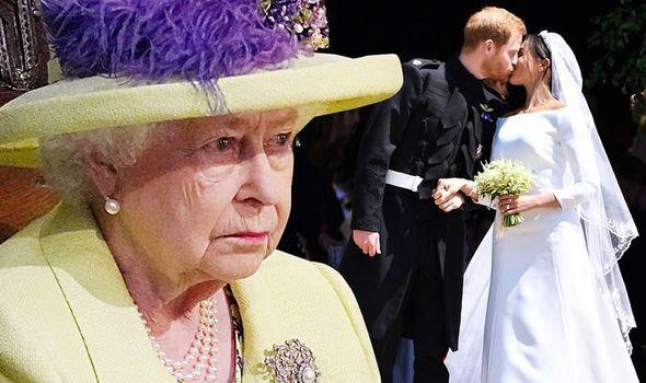 queen news meghan markle prince harry wedding day 1361141
