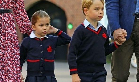 Princess Charlotte Prince George 1369550