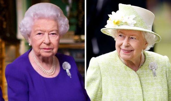 Queen Elizabeth II wears stunning diamond brooch with sweet history for Christmas 2020 1376697