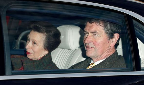 princess anne news sir timothy laurence marriage sense of humor royal family interview Captain Peter Phillips 70th birthday 1 1399821