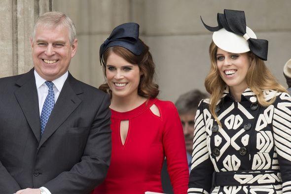 Prince Andrew news Princess Beatrice Eugenie video