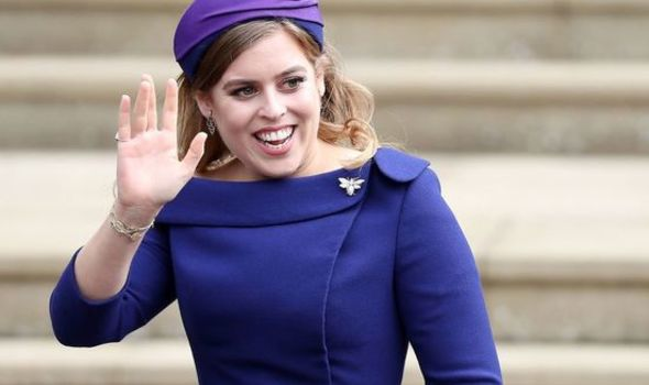 Princess Beatrice shares love of reading 1405848