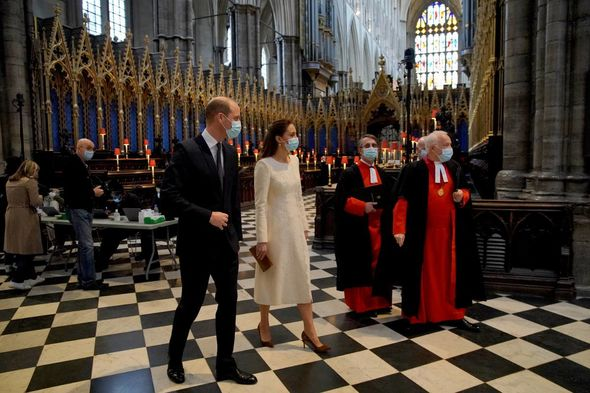 The Duke and Duchess marked the day of remembrance for Covid