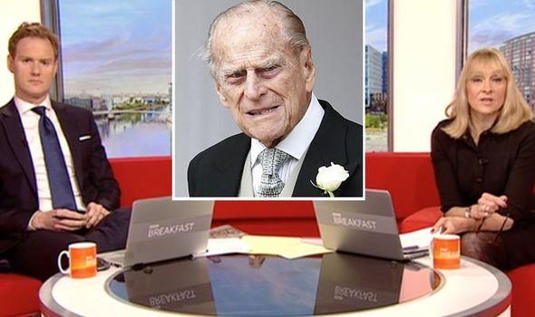 BBC Breakfast Louise Minchin Dan Walker Prince Philip 1421858