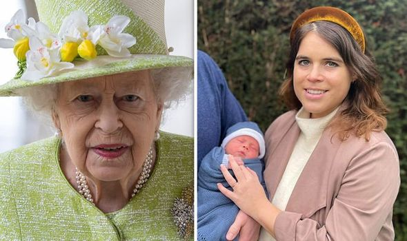Princess Eugenie and Baby August 1425792