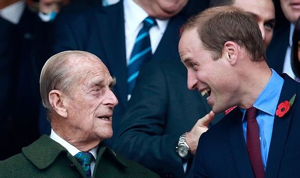 prince Philip news prince William crucial role future king queen Elizabeth robert lacey lunches with monarch 1 1426886