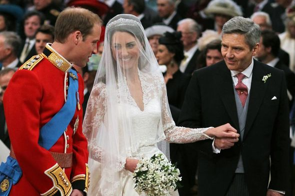 Kate stunned on her big day as she wore a dress designed by Sarah Burton for Alexander McQueen