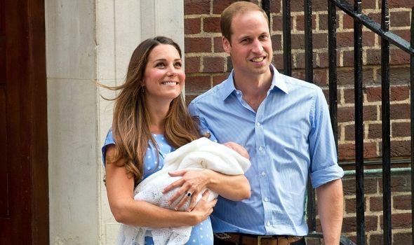Prince William welcomes Prince George to the world(Image: GETTY)