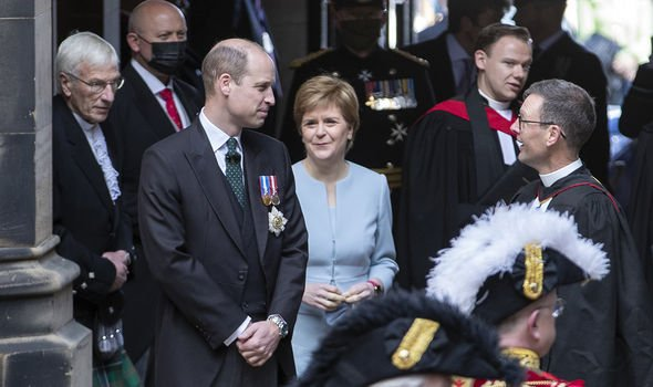 The Royal Family are being used to strengthen ties with Scotland amid independence referendum fears(Image: GETTY)