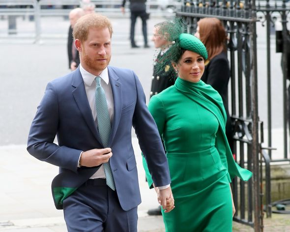 The Duke and Duchess of Sussex quit as working royals in March 2020 and are now living in a mansion in Montecito(Image: GETTY)