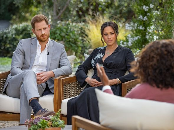 Harry's latest comments come after he complained to Oprah Winfrey that the Prince of Wales cut him off financially in the wake of Megxit(Image: GETTY)