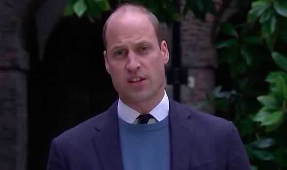 Prince William has blasted the BBC in an emotional statement(Image: KENSINGTON PALACE)