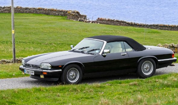 Jaguar XJ-S Cabriolet sportscar(Image: Getty)
