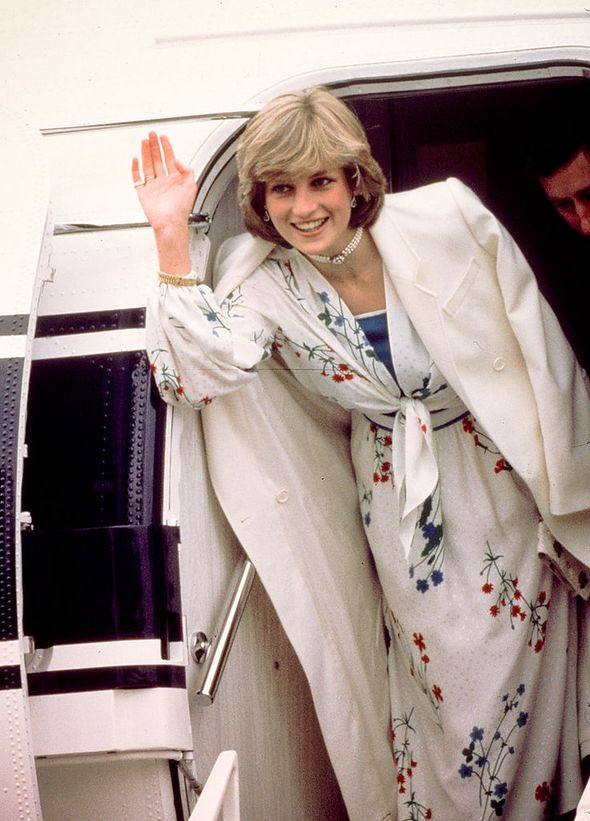 Diana had to be sneaked out of the country(Image: Getty Images)