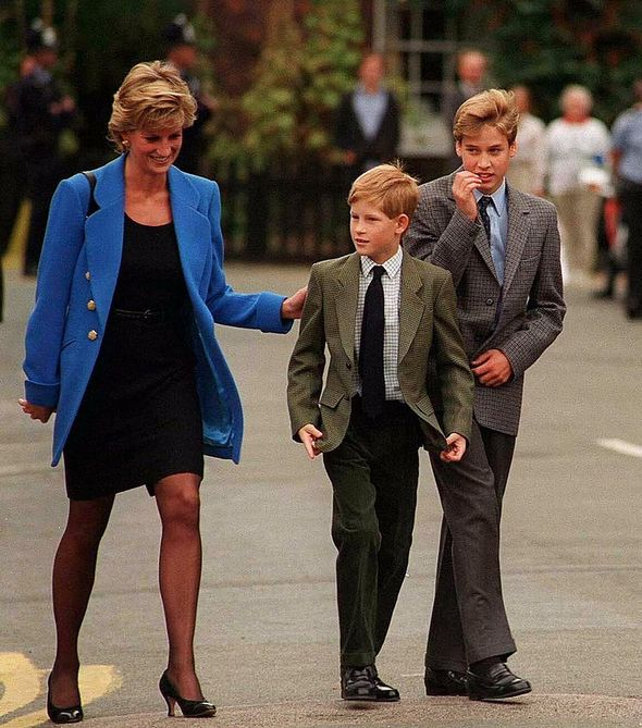 The statue honours the 'life and legacy' of Diana
