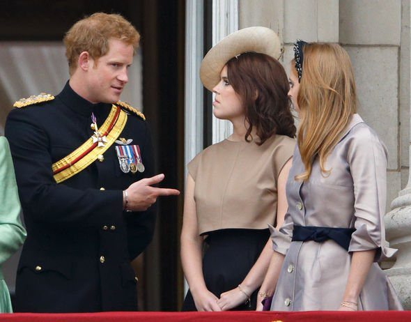 Harry and Eugenie shared a close bond over the years(Image: GETTY)