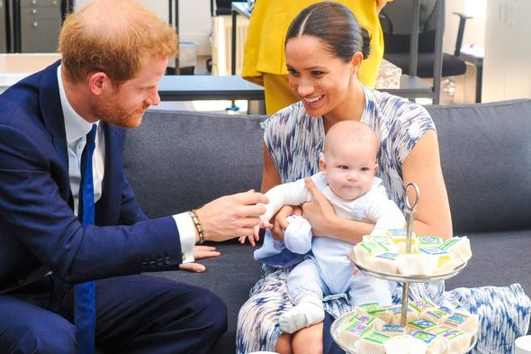 Harry and Meghan now live in the US with son Archie and daughter Lilibet(Image: PA)