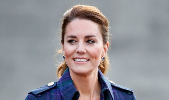 """Kate Middleton believed there was still time to pull Meghan Markle and Prince Harry """"back in""""(Image: getty)"""