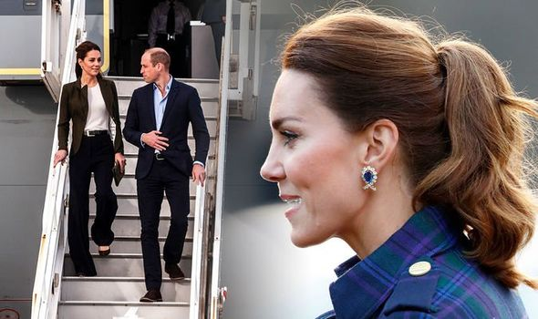 Kate Middleton: The Duchess travels with her own hair stylist(Image: Getty Images)
