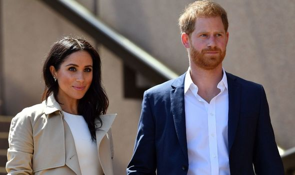 """Prince Harry described how he and Meghan Markle felt """"completely helpless"""" as royals(Image: getty)"""