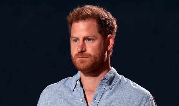 """Prince Harry is on """"increasingly dicey ground"""" after his several attacks on the Royal Family(Image: getty)"""