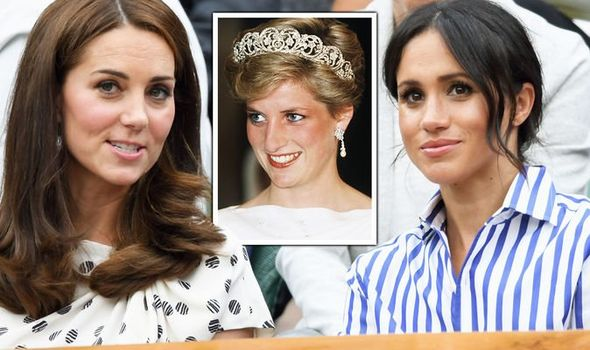 Princess Diana, Meghan Markle and Kate Middleton