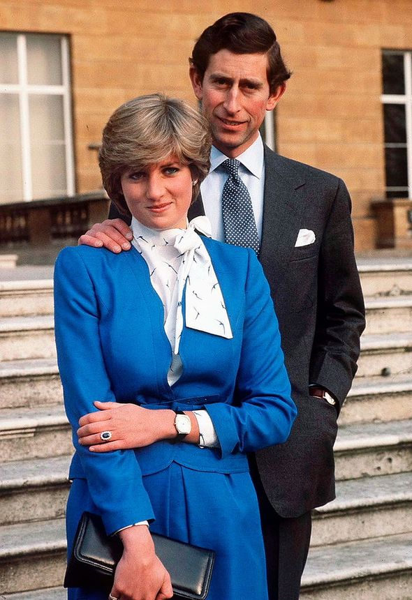 Diana and Charles announce engagement