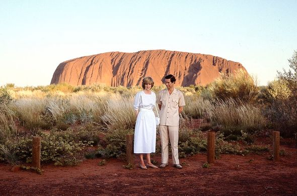 Princess Diana made the trip to New South Wales before the engagement announcement(Image: Getty Images)