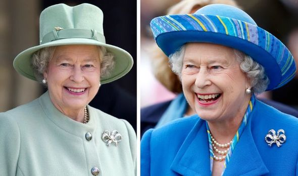 Queen's bow brooches