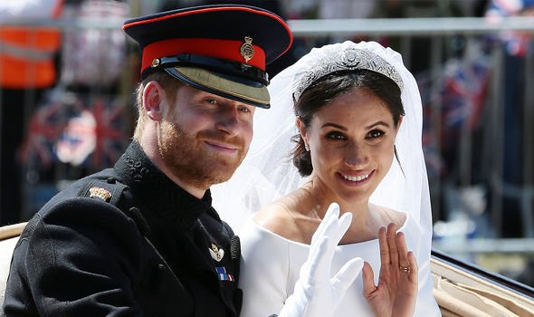 Meghan and Harry's wedding was watched by hundreds of millions across the world(Image: GETTY)