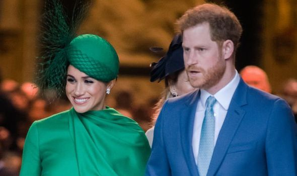 Meghan Markle news: Lilibet Diana's name is seen as the Sussexes wanting 'to build bridges'(Image: GETTY)
