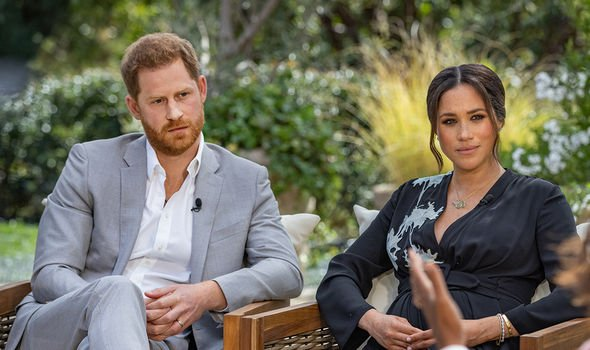 Meghan Markle news: Meghan and Harry said they were 'blessed' by their new arrival on their Archewell website(Image: CBS)