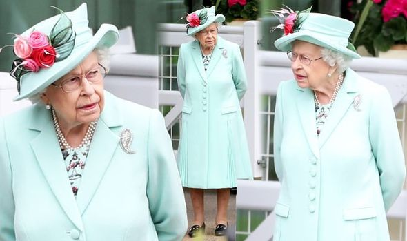 Royal Ascot 2021: The Queen appeared at the horse racing event today - her only visit this week(Image: PA)