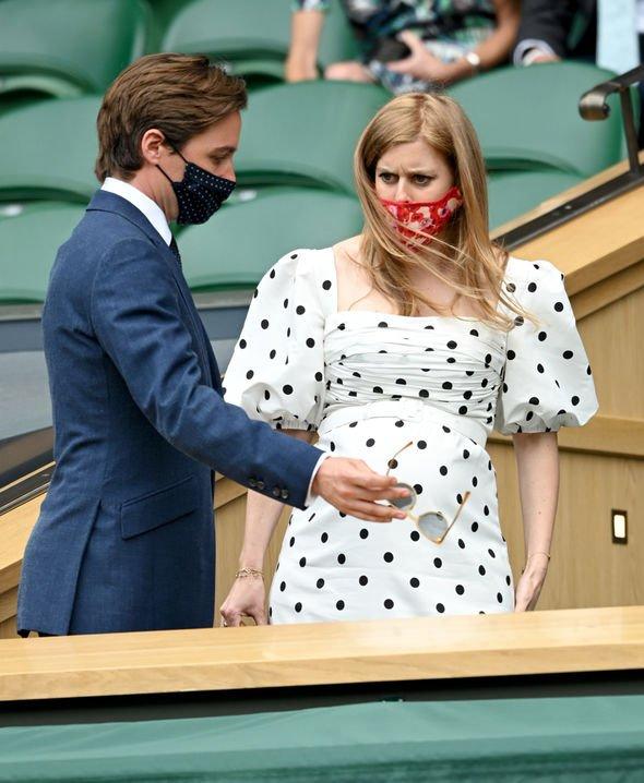 Beatrice and Edo at Wimbledon