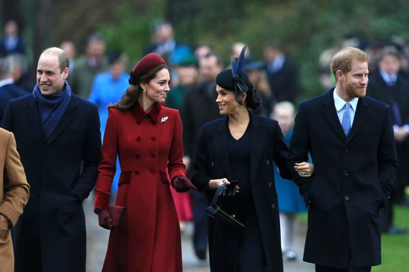 The Cambridge's and Sussex's