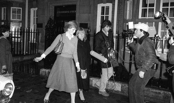 Media: Anne is said to have disliked the way Diana used the media to her advantage